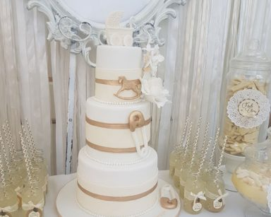 White Gold Baby Shower Themes